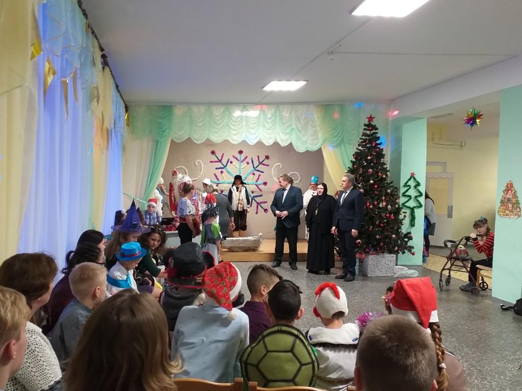Новогодний праздник в Центре помощи детям №8  г.Олонца